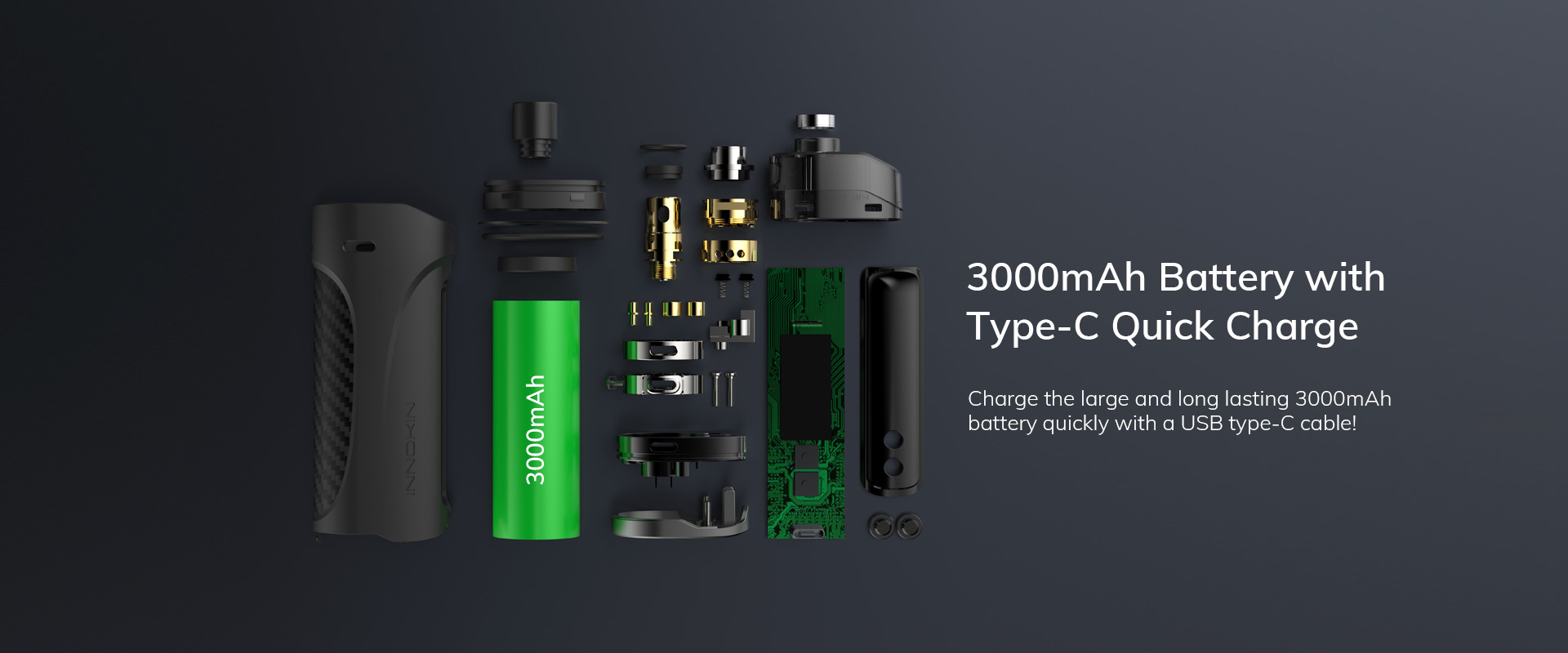 kroma z 40w 3000mah pod kit by innokin 6
