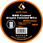 GEEKVAPE N80 Framed Staple Twisted Wire (26ga*2 TWISTED + 26ga*2) + 32GA / 10ft