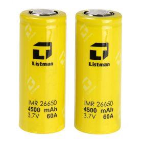 LISTMAN 26650 4500mAh 60A