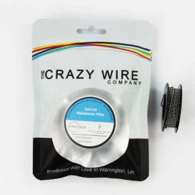 Crazy Wire 26 AWG Fused Clapton Coil Wire KA1 (26 AWG x 2 & 32 AWG) // 5m
