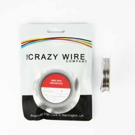 Crazy Wire 24/38 AWG Flat Clapton Ni80 (0.68mm x 0.3mm + 38 AWG Wrap) // 5m