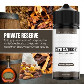 NTEZABOY Private Reserve 25ml (120ml)